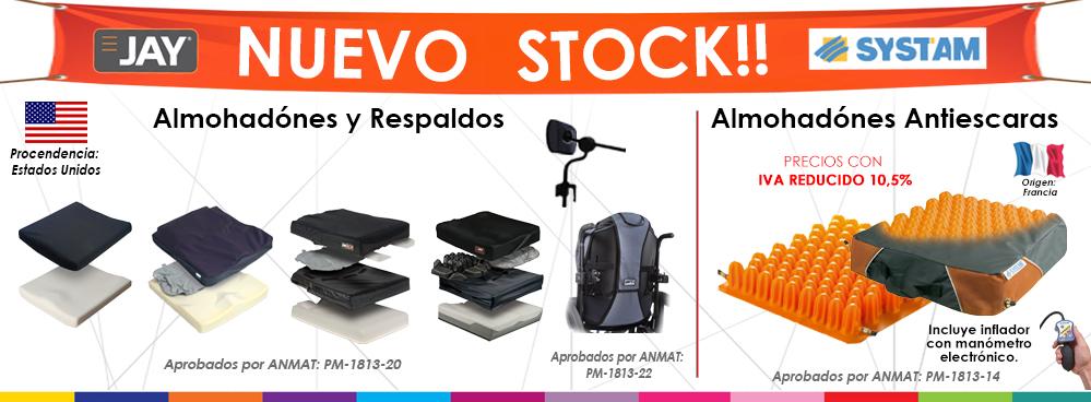 NUEVO STOCK: ALMOHADONES ANTIESCARAS Y RESPALDOS POSTURALES !!