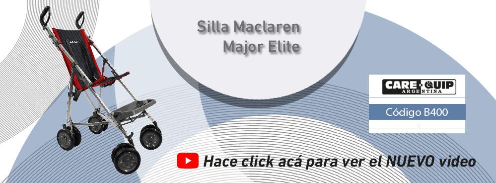 NUEVO VIDEO !!! SILLA DE RUEDAS MACLAREN MAJOR ELITE !!!